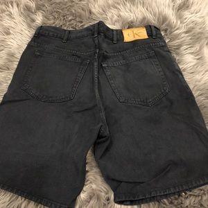 Calvin Klein Jeans Shorts - VINTAGE CALVIN KLEIN Men's Denim Shorts